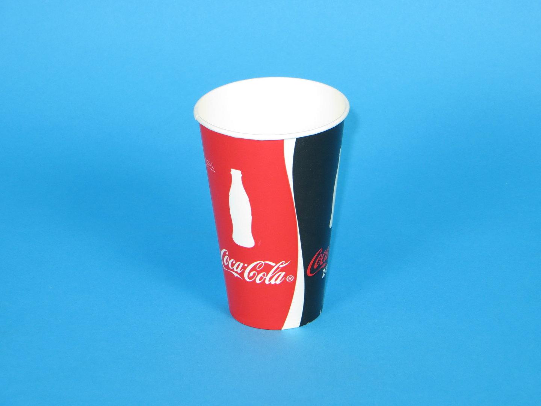 "Trinkbecher Pappe 250ml ""Coca Cola""  2000St"