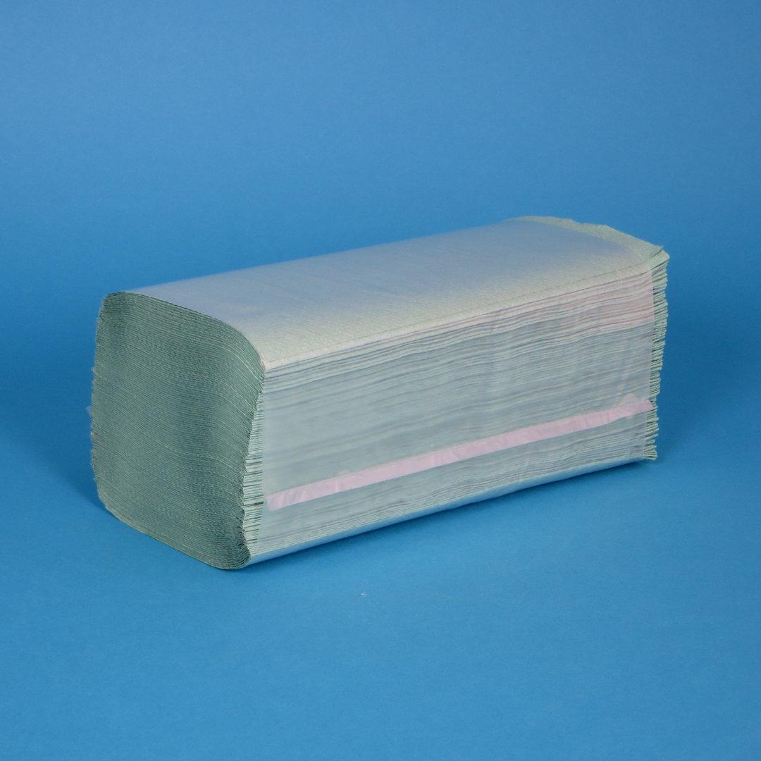 Papierhandtücher grün 25x23cm 1-lg Z-Falz 5.000St