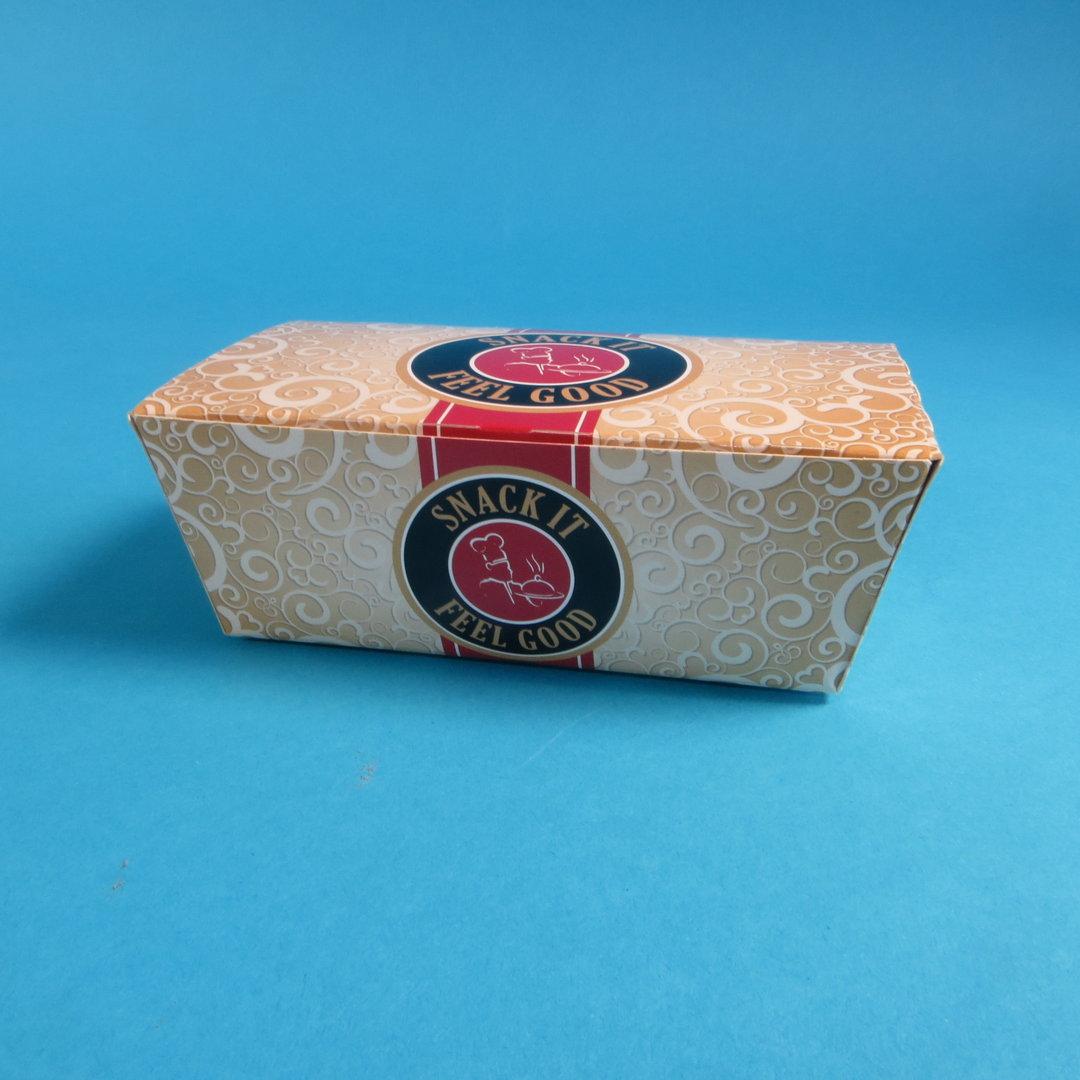 "Snack Faltbox klein 124x65x50mm ""Feel Good"" 500St"