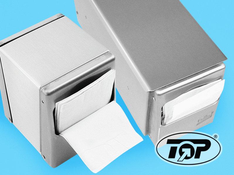 Spenderservietten weiß 24x29cm gefaltet auf 11,8x8,5cm 10800St