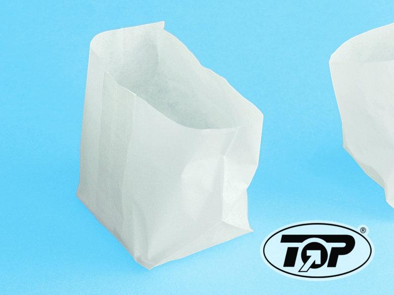 Wrapbeutel weiß Pergamentersatz fettdicht 10+6x4cm 500St