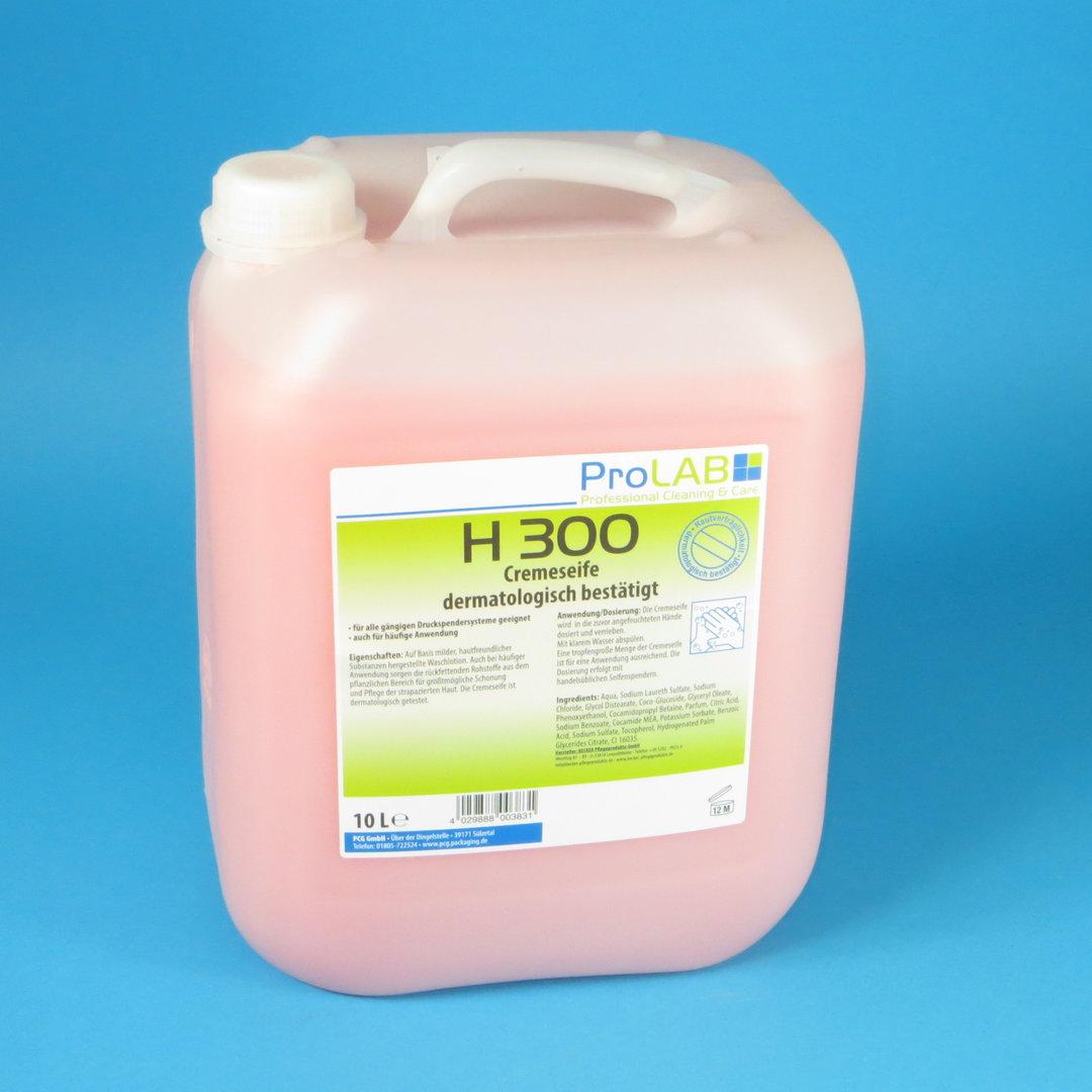 Handseife Seifencreme flüssig rosa H300 10l 1St