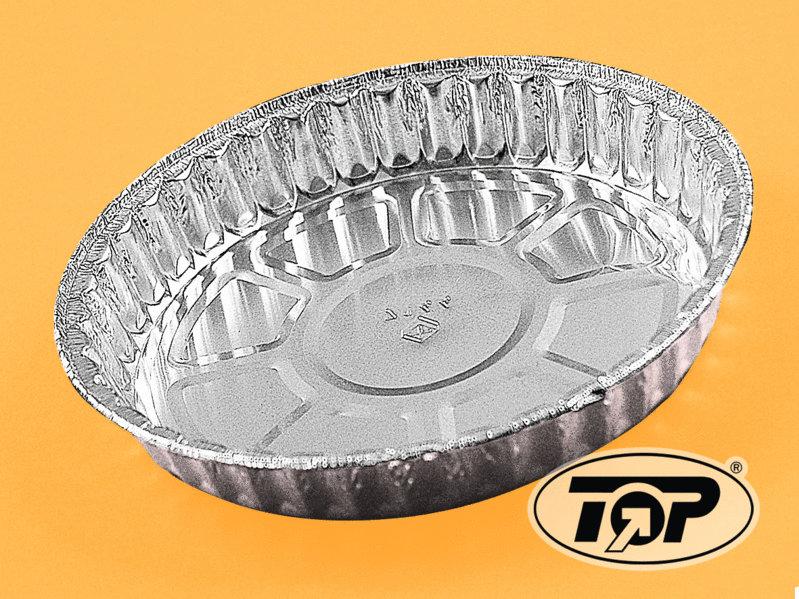 Einwegbackform Aluminium 192mm rund 23mm hoch 1.000St
