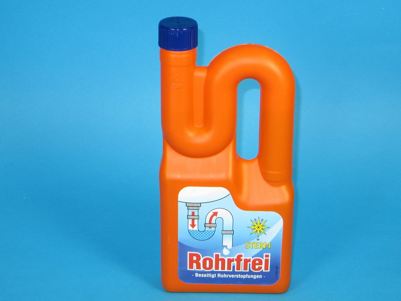 Rohrfrei Abfluss- & Rohrreiniger flüssig 10x1l Flasche