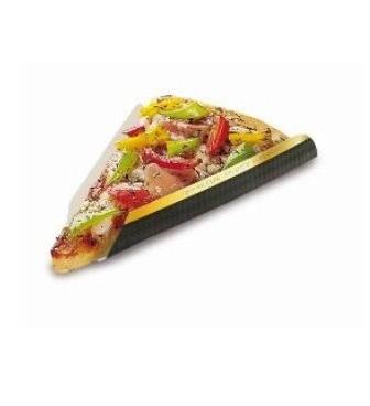 """Pizza Slice für Pizzastück """"Black Line"""" Hartpapier 250St"""