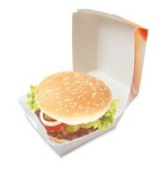 Fast Food Starter Paket Hamburger+Pommes+Cola Fresh & Tasty