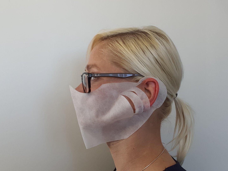 Behelfs Mund- Nasen Masken PP Vlies weiß versch. Mengen