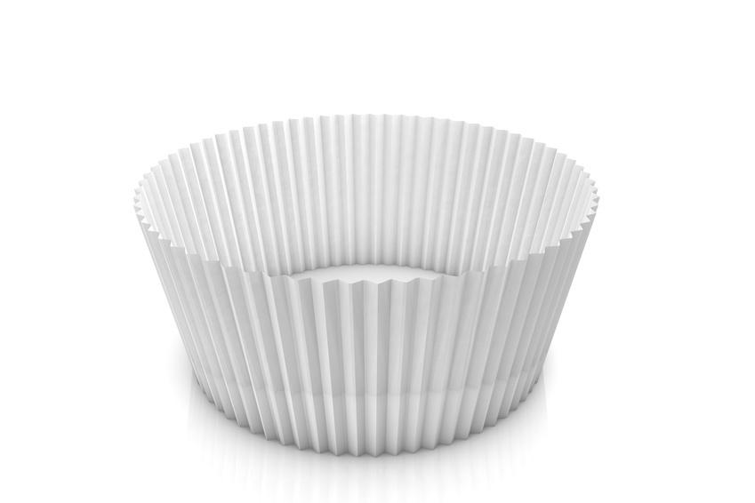 Gebäckkapseln Muffin Cups weiß versch. Größen 1000St