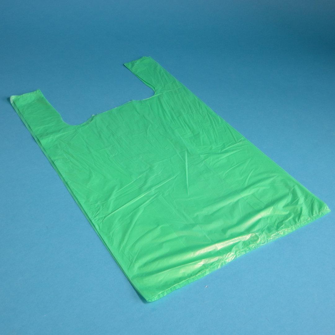 Hemdchentragetasche ND grün 30+16x52cm Jumbo 2.000St