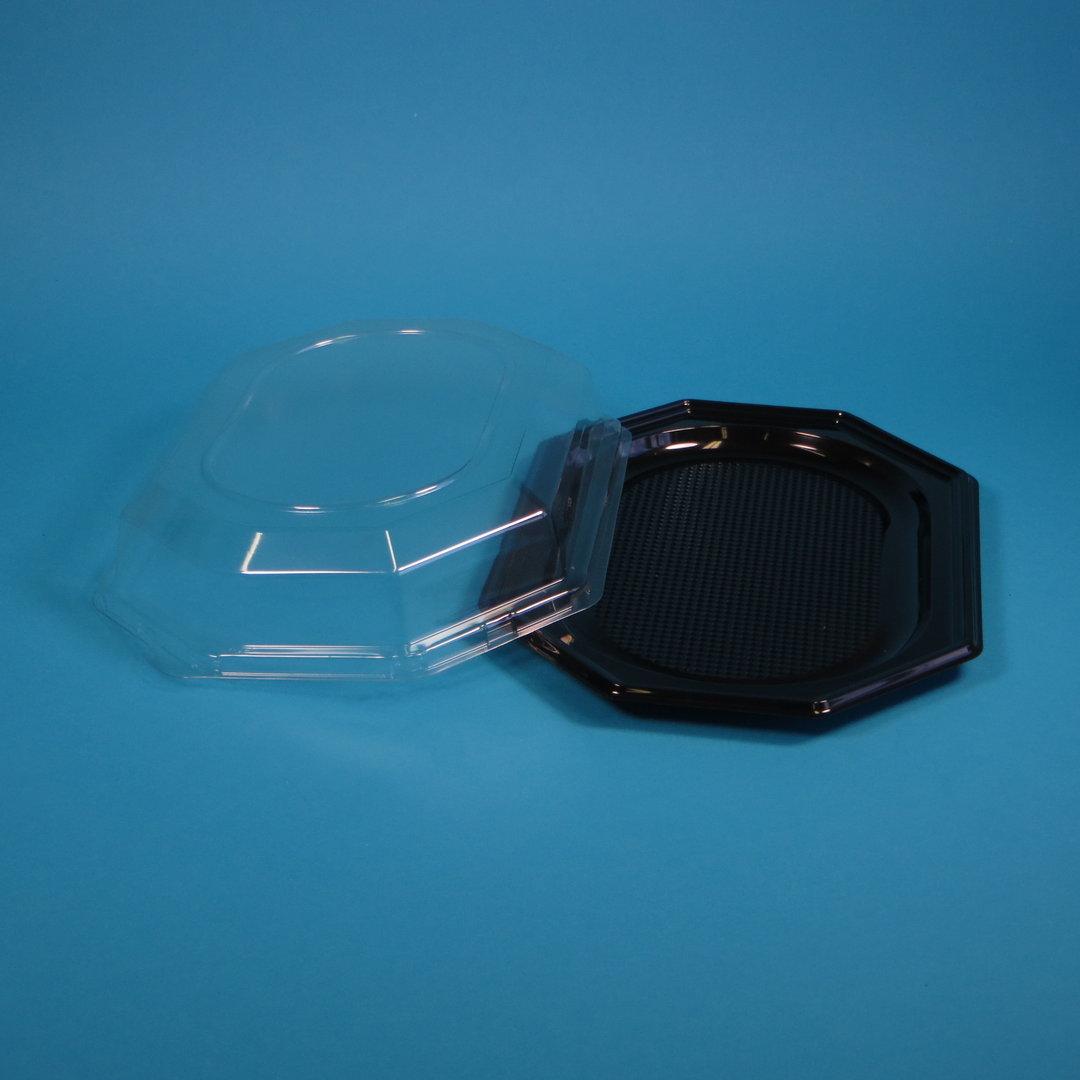 Kunststoff Partyplatten XL schwarz 550x360x30mm 100St