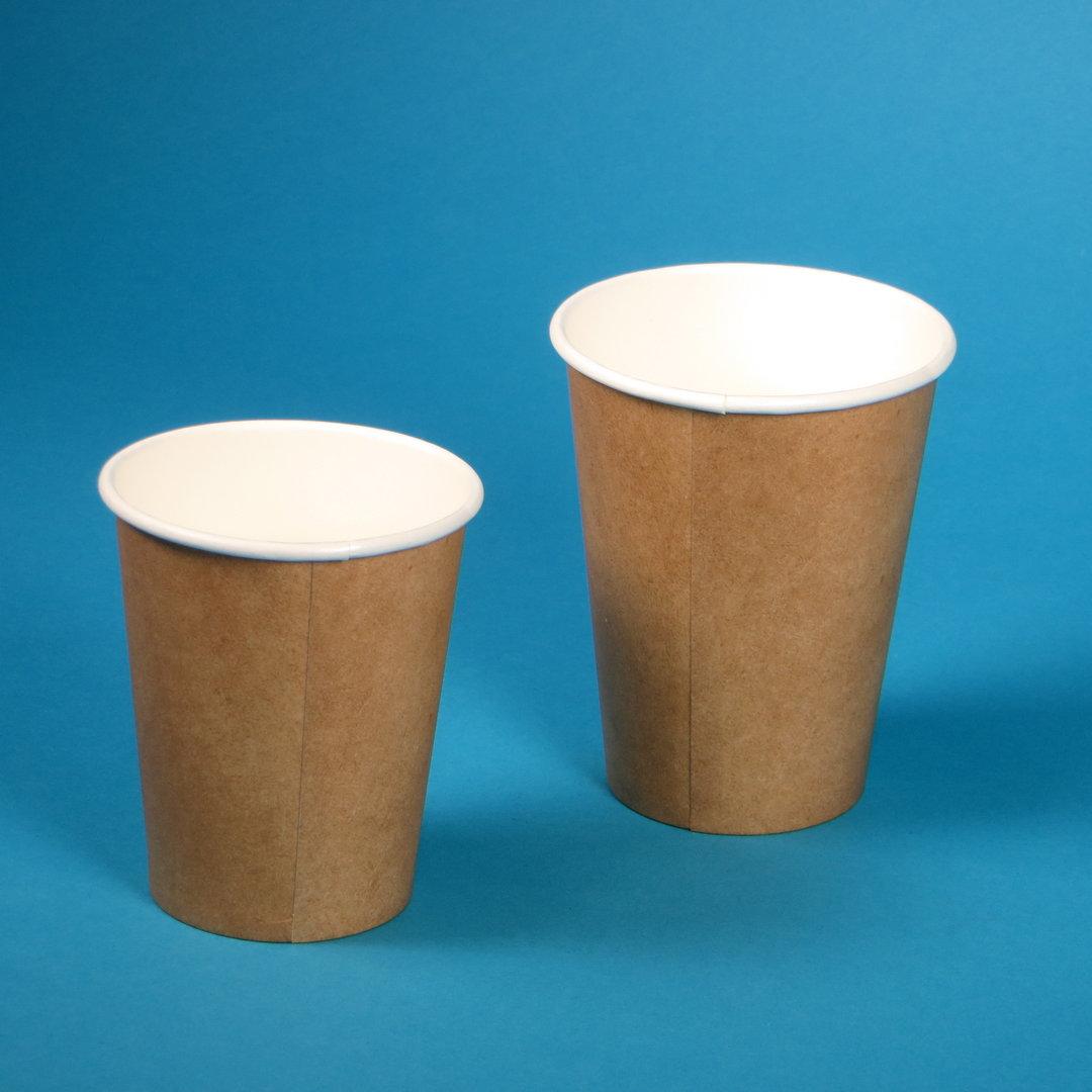 Bio Coffee to go Becher braun versch. Größen