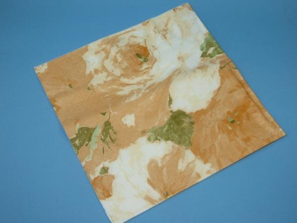 Tissue Serviette 40x40cm 3lg 1/4 Rosendekor Apricot 1500St