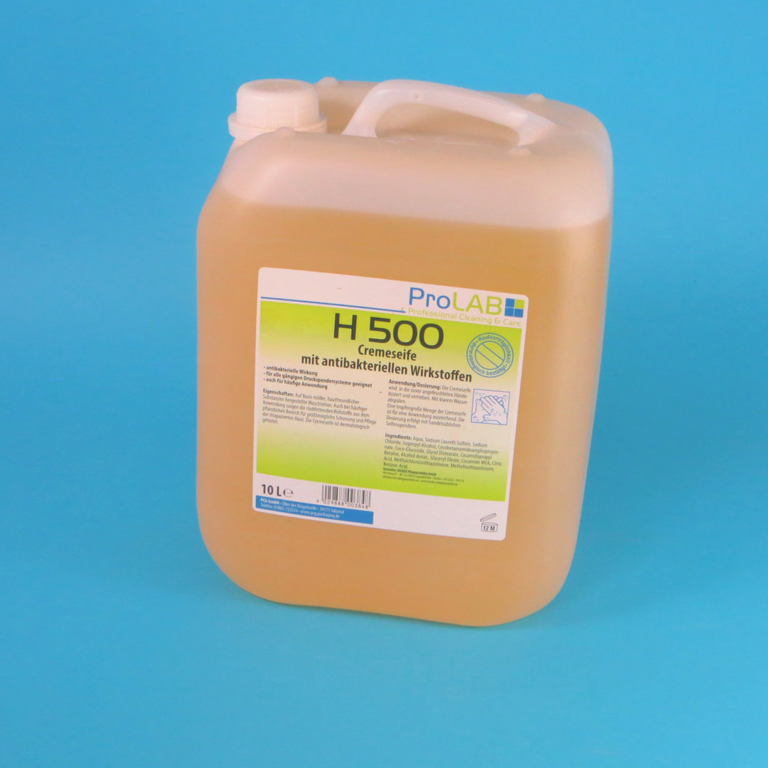 Cremeseife H500 Waschcreme antibakteriell apricot 10l