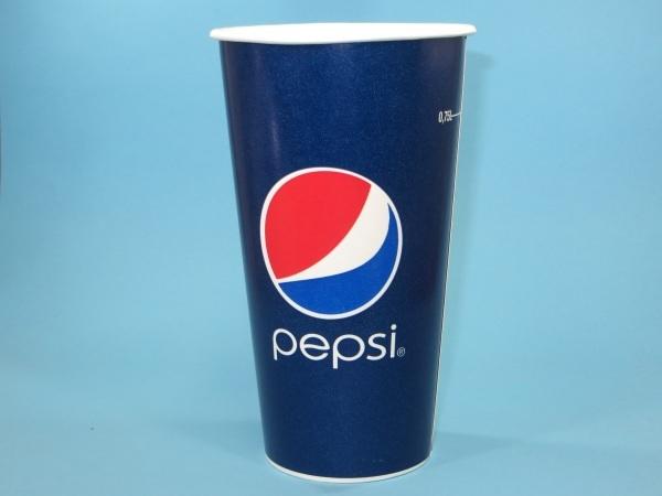 "Trinkbecher Pappe 750ml ""Pepsi Cola""  500St"