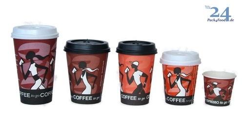 "Coffee to go Becher ""Coffee Grabbers"" versch. Größen"