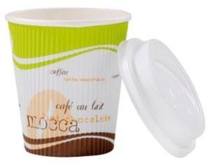"Coffee Ripple Cup ""Coffee to go"" 10oz 250ml 600St"
