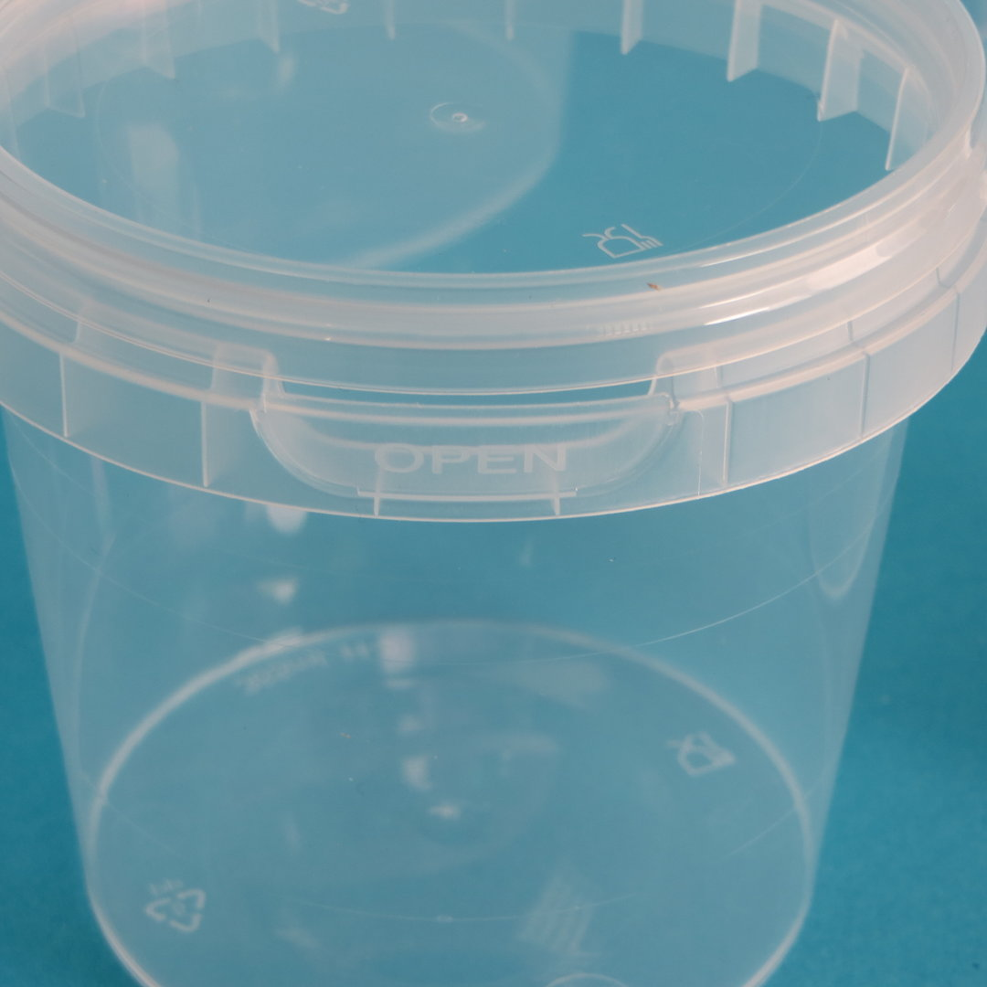 Verpackungsbecher rund mit Originalitätsverschluss 210ml 448St