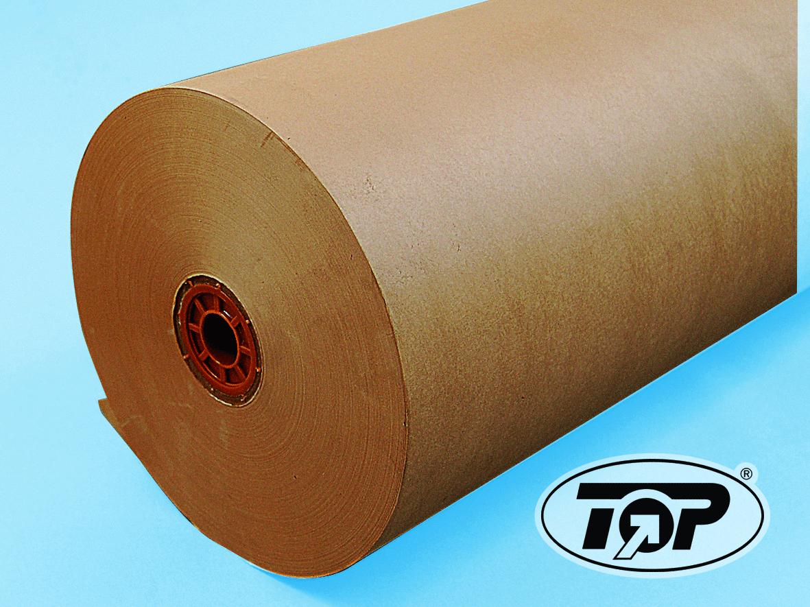 Backtrennpapier braun auf Rolle á 200m 6St versch. Breiten