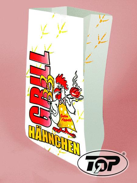 """Hähnchen Warmhaltebeutel 2lg """"Grillhähnchen"""" 1/2 500St"""