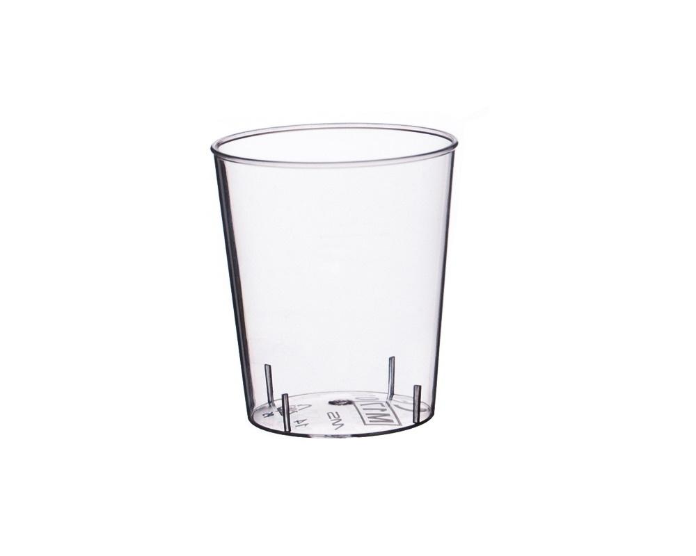 Schnapsgläser Einweg Spritzguss glasklar 2cl 2700St.