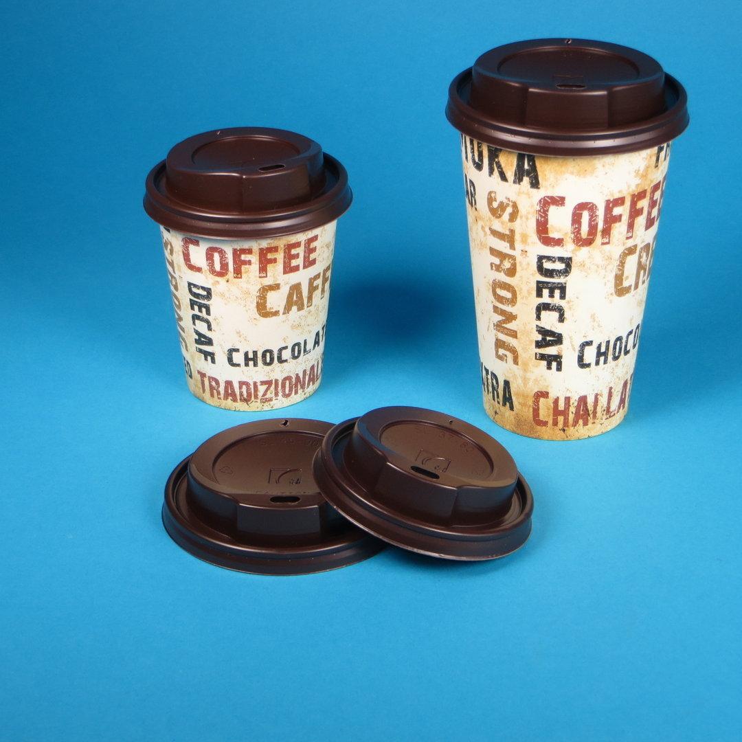 Sparpaket Kaffeebecher Barista m. Deckel 1000St. versch. Größen