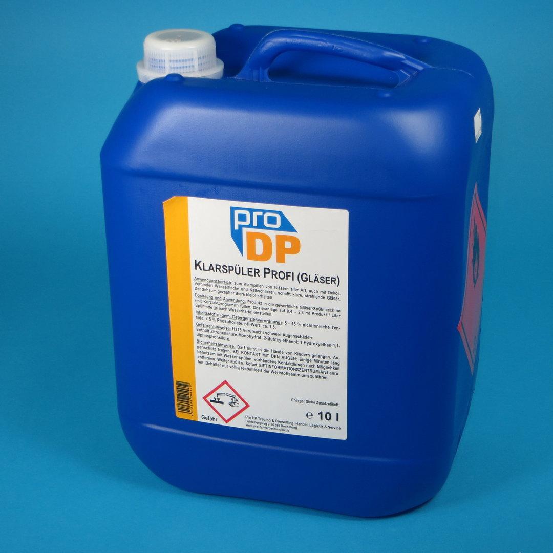Pro DP Spezial Klarspüler für Gläserspülmaschinen Kurztakt 10l