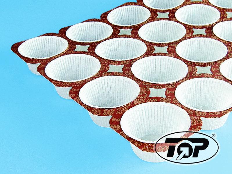 Muffin Back Tray für 24 Muffins 6OZ 130g 100St