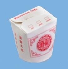 Asia Snackbox mit PagodeMotiv 16oz 500ml 500St