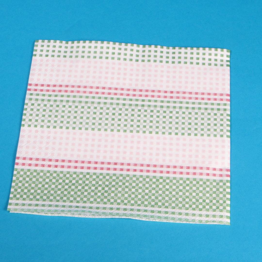 """Tissue Servietten """"Spektrum"""" 33x33cm 3-lg 1/4 1000St"""