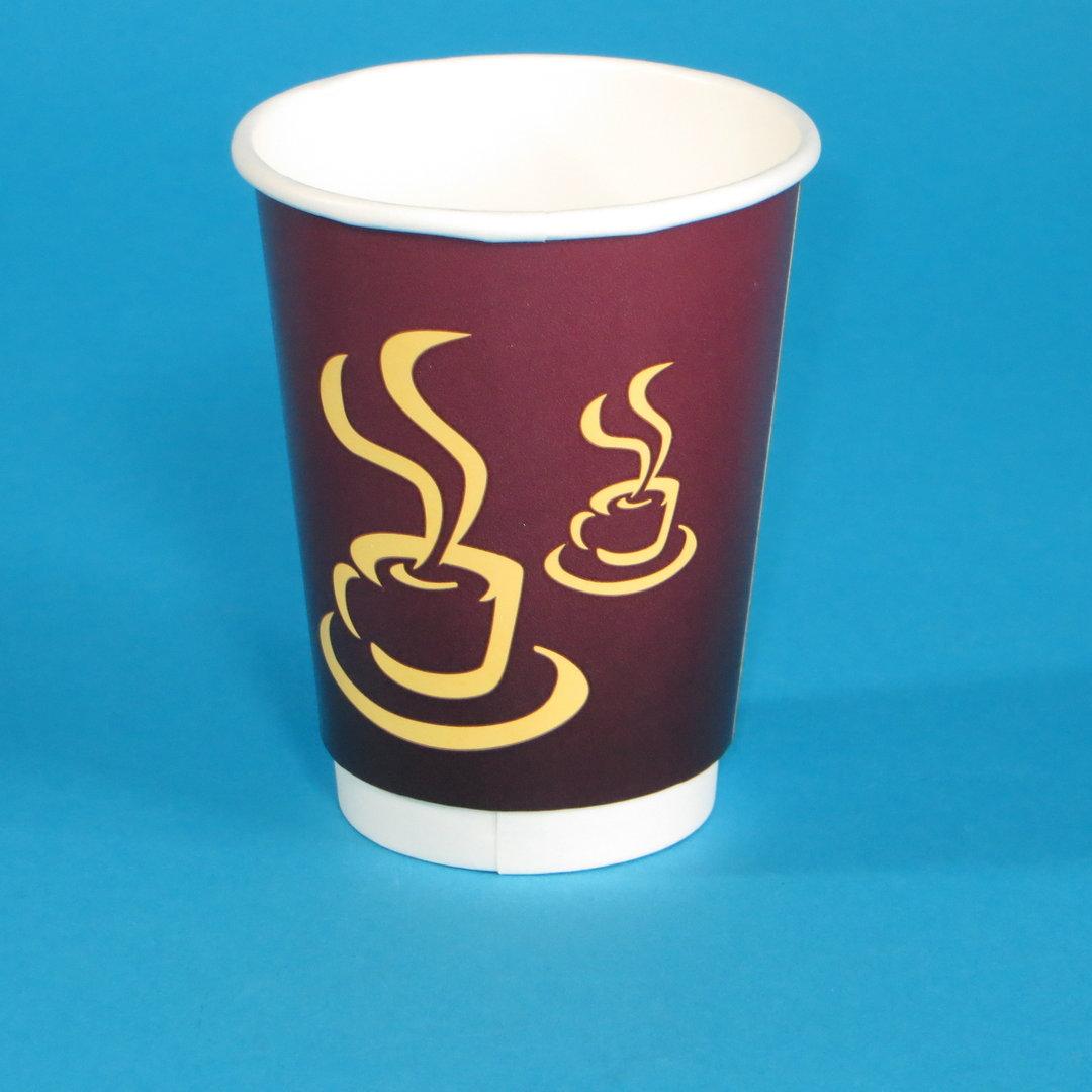"Doppelwand Coffeecup ""Hot Coffee"" 16oz 400ml 500St."