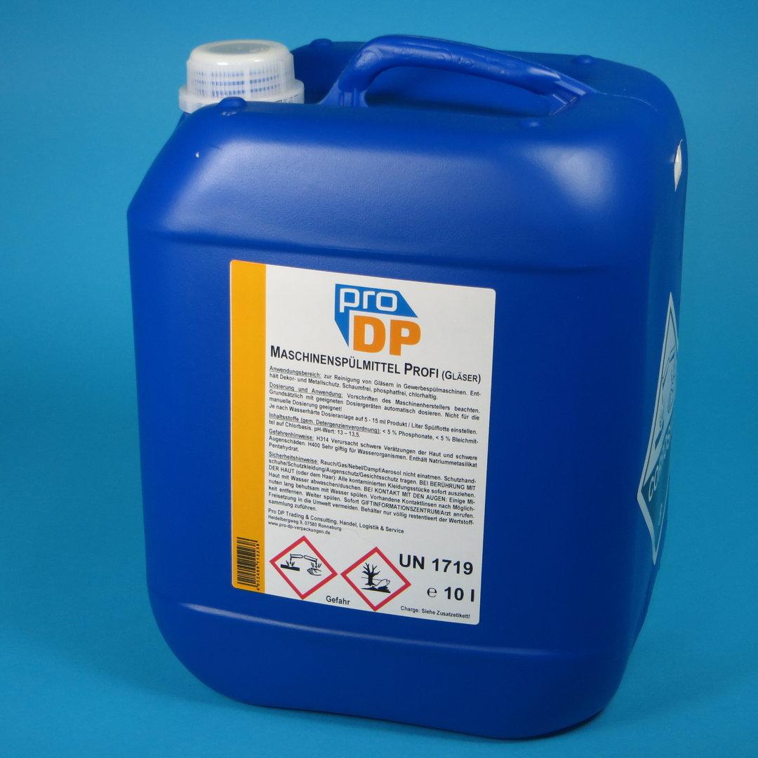 Pro DP Maschinenspülmittel Gläser Kurztakt 10l Kanister