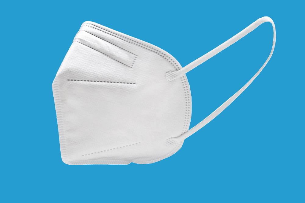 FFP2 Gesichtsmasken weiß CE zertifiziert einzeln verpackt 10St in VE