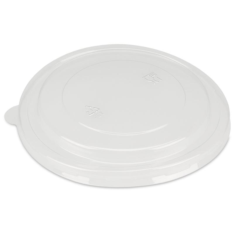 PET Deckel für Bio Salatschalen Karton braun Ø185mm 300St