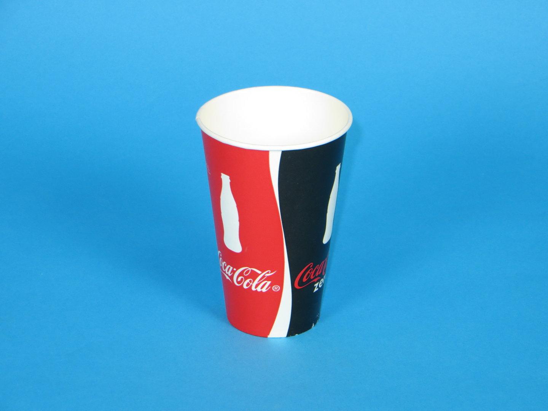 "Trinkbecher Hartpapier 500ml ""Coca Cola"" 1000St"